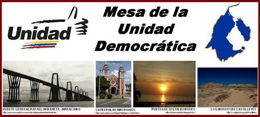 MESA DE LA UNIDAD DEMOCRATICA ZULIA