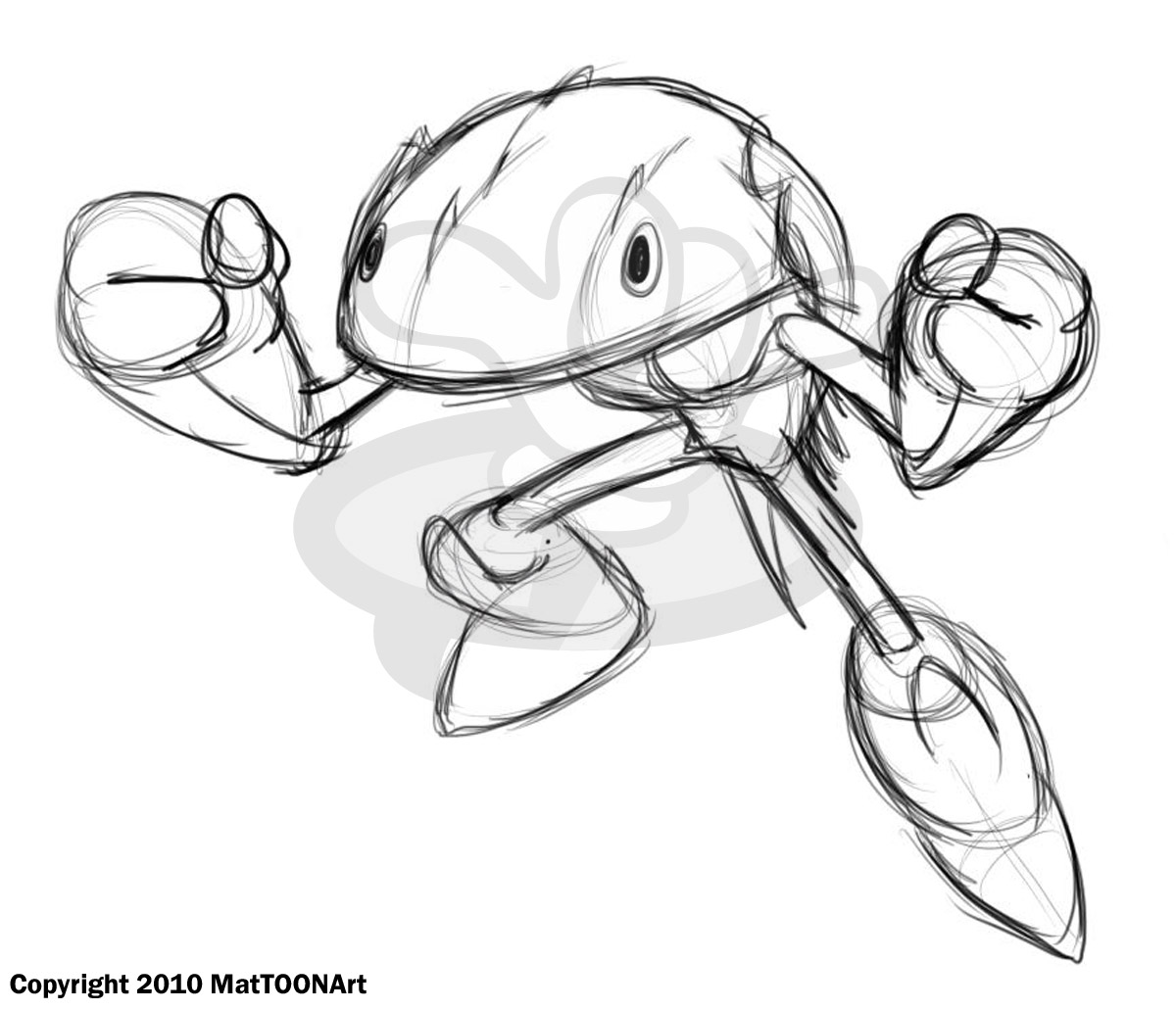Free Cartoon Crab Coloring Pages