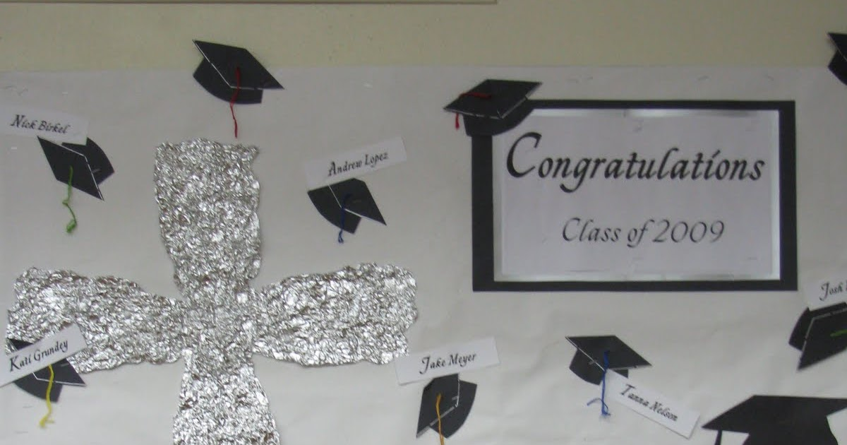 keepsakesewing  graduation bulletin board