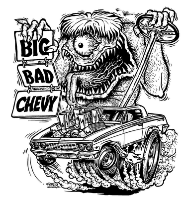 rat fink coloring pages - bwanadevil art the amazing ed big daddy roth