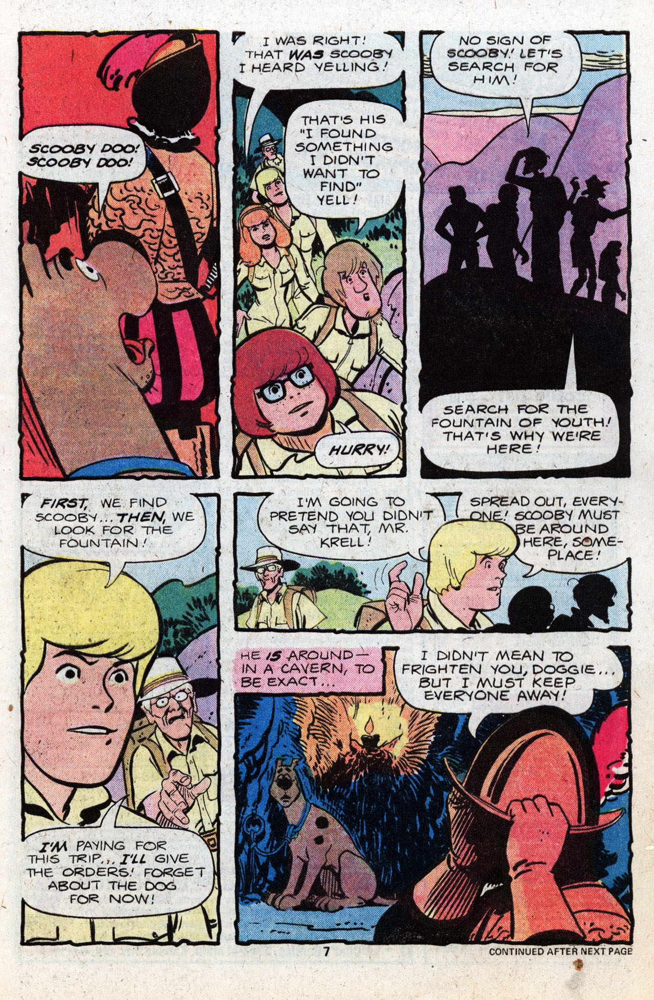 Read online Scooby-Doo (1977) comic -  Issue #8 - 9