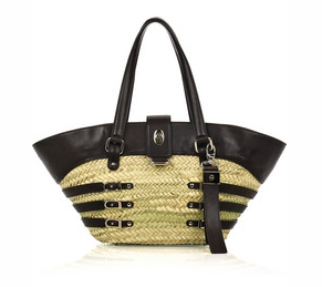straw bag jimmy choo