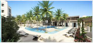 Gansevoort Turks & Caicos pool