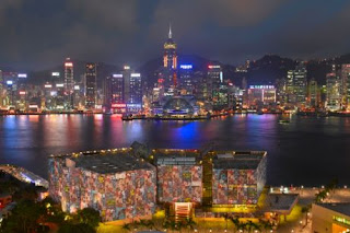 Richard Price After Dark Hong Kong Muesum of Art at Night