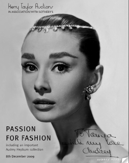 Audrey Hepburn catalog