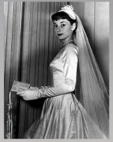 audrey hepburn wedding dress
