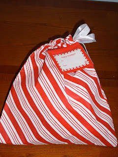 gift wrapped bag