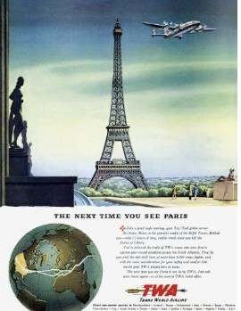 100 Years of Travel Ads | Jet Set Girls