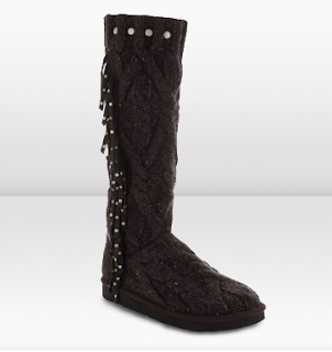 jimmy Choo knitt Uggs