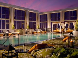 Tempo Hotel Pool Miami