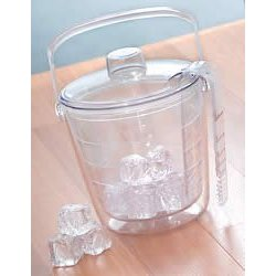 Insulated Ice bucket set with tong and lid