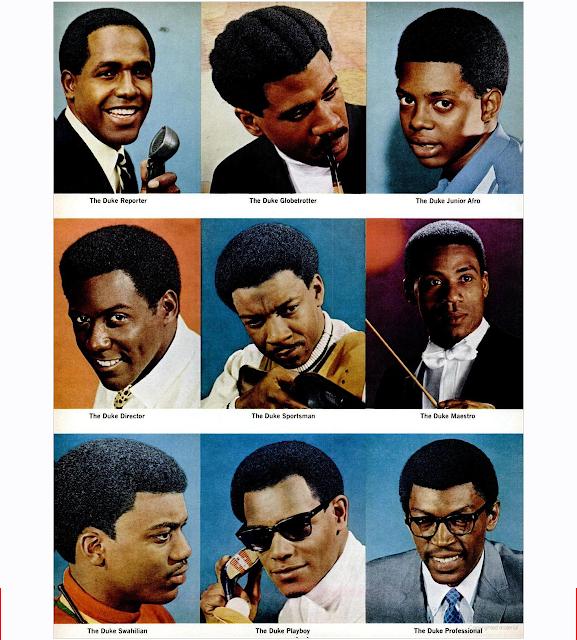 Duke Pomade: Hairstyle Poster