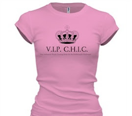They arrived! VIP CHIC T-shirts!