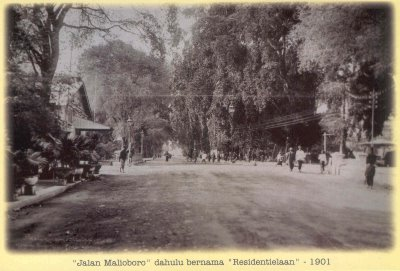 Jalan Malioboro tahun 1931