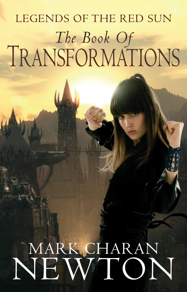 """The Book of Transformations"", has a cover art draft already."