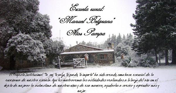 Escuela rural Manuel Belgrano-Atos Pampa