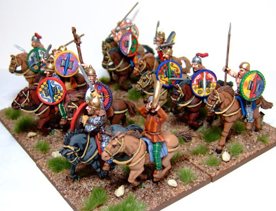 Macphee S Miniature Men Old Glory 28mm Gallic Cavalry