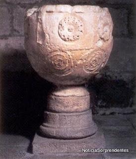 Piedra templaria que curaba enfermedades