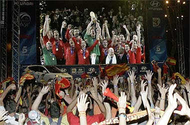 pantalla+gigante España campeona del Mundo de fútbol