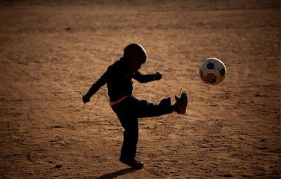 niño+pelota 10 fotos sorprendentes del Mundial de Sudáfrica