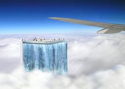 Solar City Tower, la cascada de Río