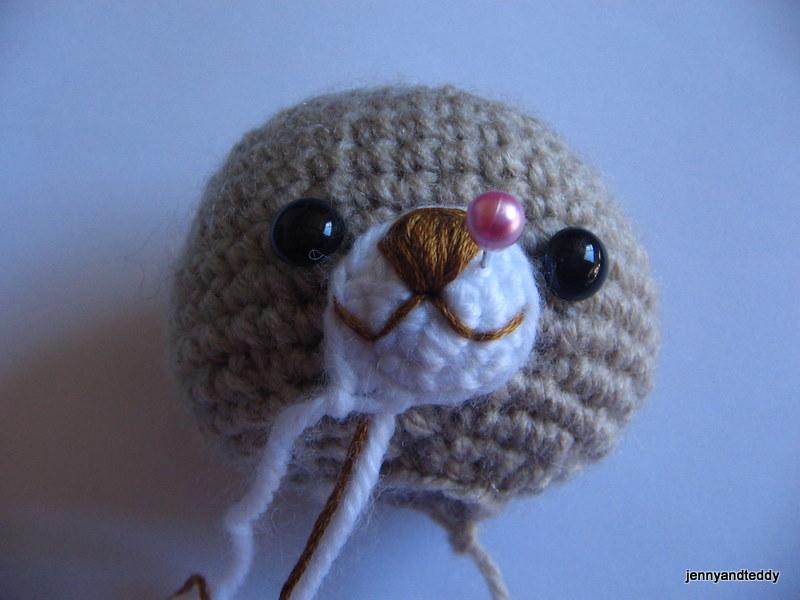 Amigurumi Doll Nose : Meta Blog Roll: POner ojos a un amigurumi