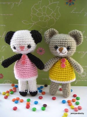Cute Amigurumi Bear Free Crochet Pattern And Tutorial : Hobi Pasaji: cok Cici Ayiciklar Cute Amigurumi Bear Free ...