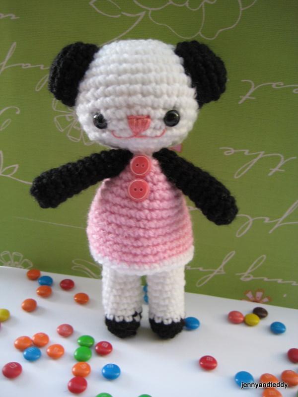How To Increase Size Of Amigurumi Pattern : free amigurumi crochet patterns by jennyandteddy: Free ...