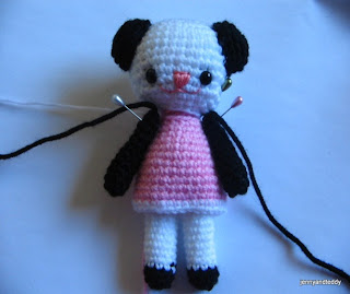 gifts and ideas: free amigurumi pattern two little teddy bears amanda and annie