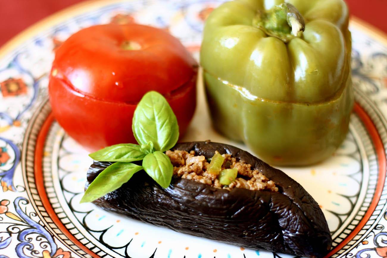 Qizima mektub bac dolmas for Azerbaijan cuisine