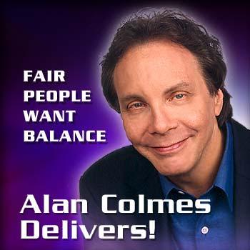alan colmes wife Newsalistic (newsalistic)