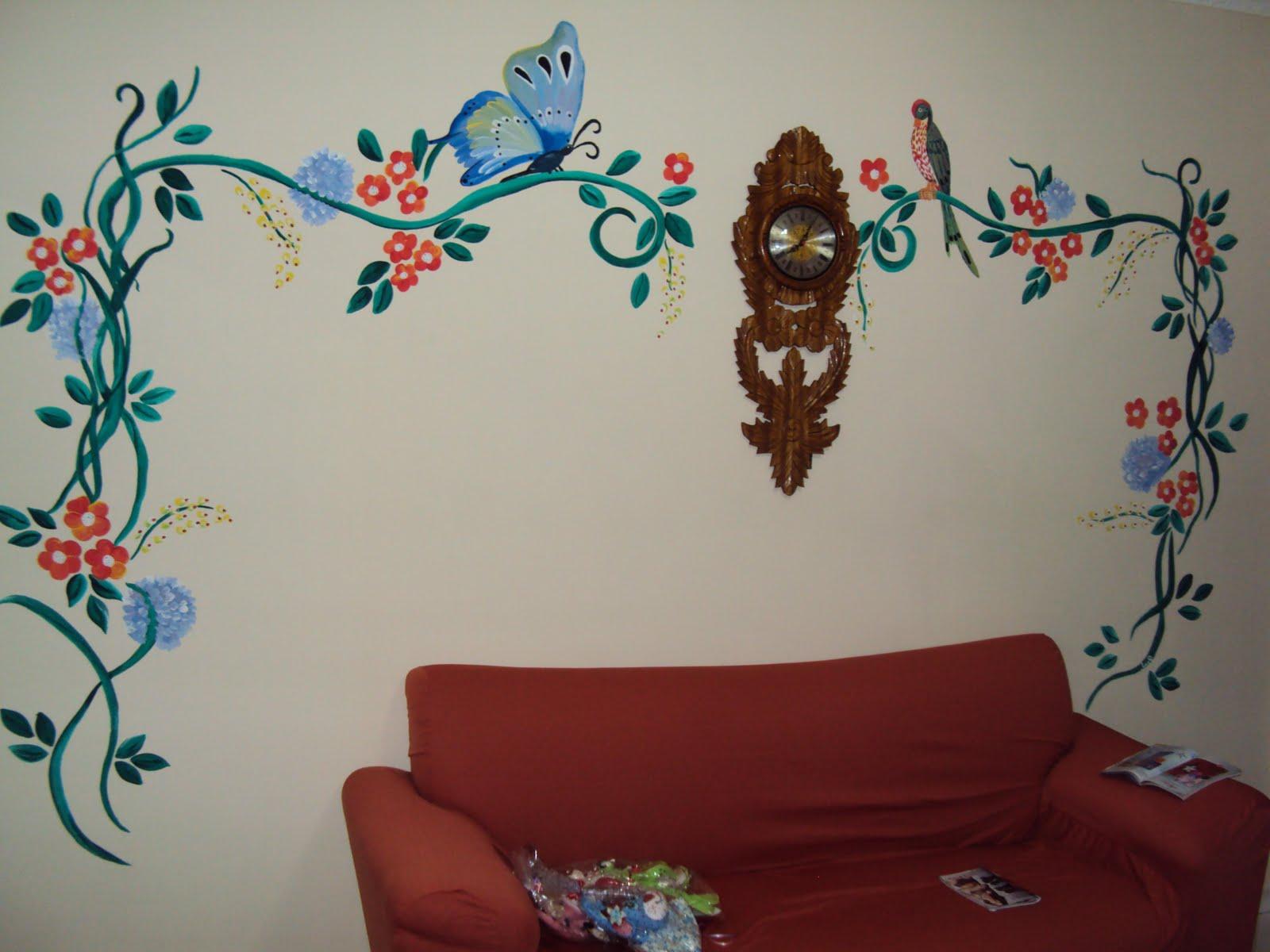Bebeu artes pinturas decorativas em paredes personalizadas qualquer tema escolha o seu - Pinturas decorativas paredes ...