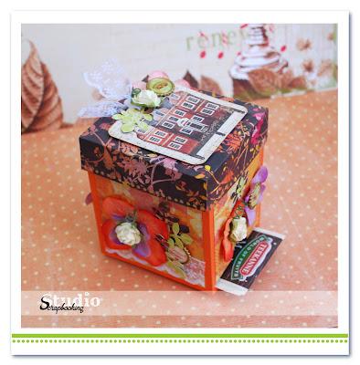 Ящик для открыток своими руками 27
