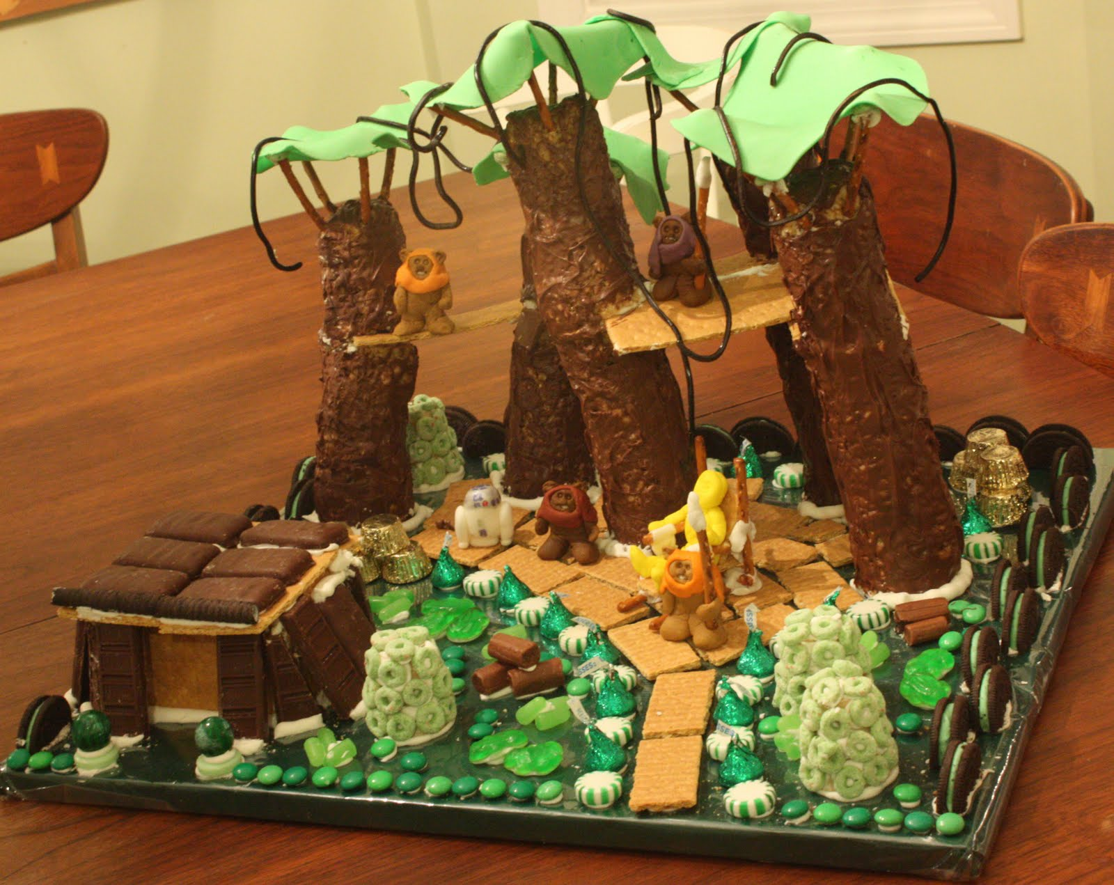 smart mama: Gingerbread Star Wars Ewok Village