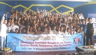 Deklarasi Pelajar Anti Korupsi