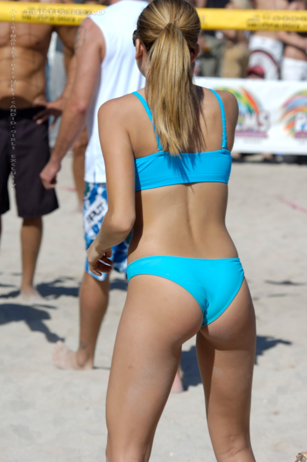 Volleyball bikini pictures girls with stockings