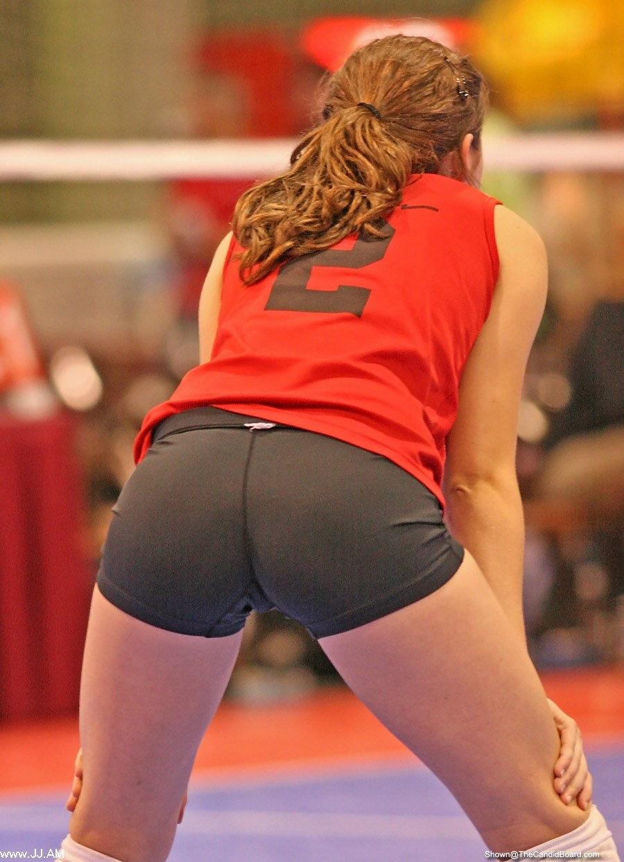 Volleyball Shorts Butts 8