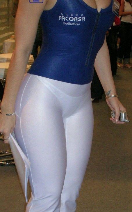 Culona de leggins blancos - 3 part 4
