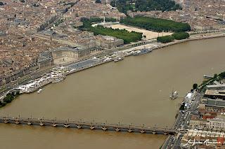 Bordeaux: vue aerienne generale