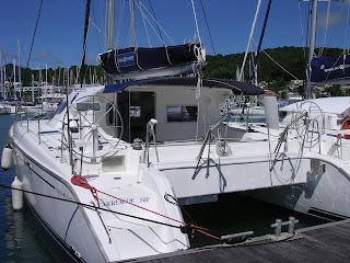 catamaran pour croisiere guadeloupe