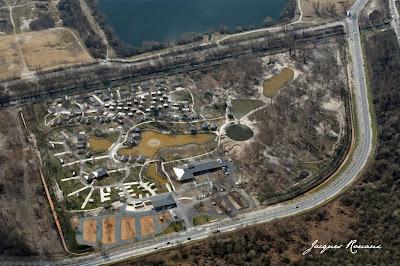 vue aérienne du camping de bordeaux