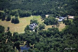 Photo aérienne du Domaine de Granade à Saint Selve