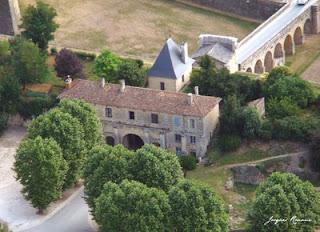 Vue aérienne citadelle de Blaye - Vauban