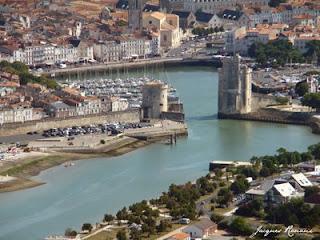 Vue aerienne du Vieux Port de La Rochelle