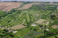 Vue aérienne du Golf de Bordeaux Lac