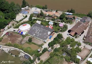 Vue aérienne du Zoo / Parc animalier