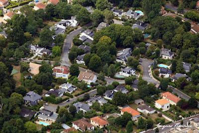 Vue aérienne du lotissement Les Jardins de San Michele