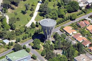 Château d'eau de la commune de Cenon