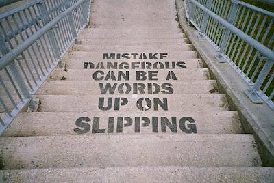 'Dangerous Slip', a photograph by teotwawki on Flickr