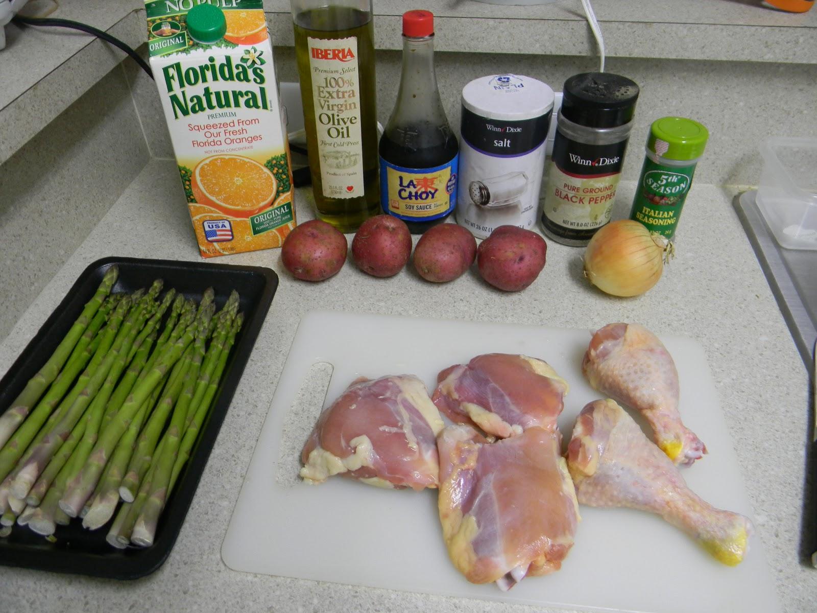 Pollo al horno a mi estilo! - Mi cocina hoy...